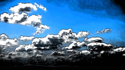 Clouds Timelapse Seamless Loop Abstract Art Animation Animation