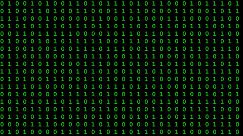 Computer data flow seamless loop video