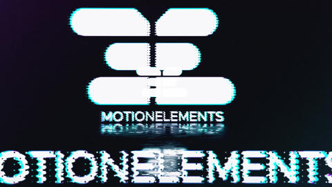 Fast Glitch Logo Reveal 3 in 1 After Effects Template