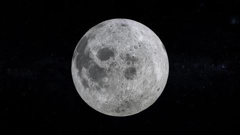 Full Moon 3D render Videos animados