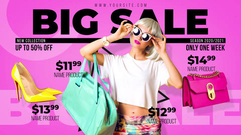 Fashion Sale - Store Promo After Effects Template