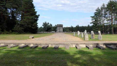 13 Memorial At Treblinka Nazi Extermination Camp In Poland Live Action
