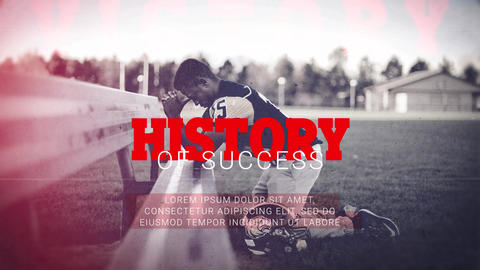 History of Success - Motivation Promo After Effects Template