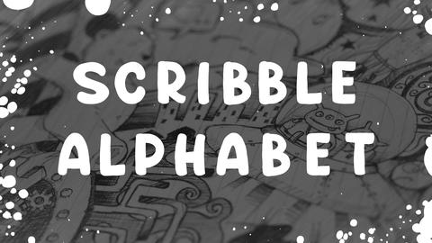 Scribble Alphabet After Effects Template