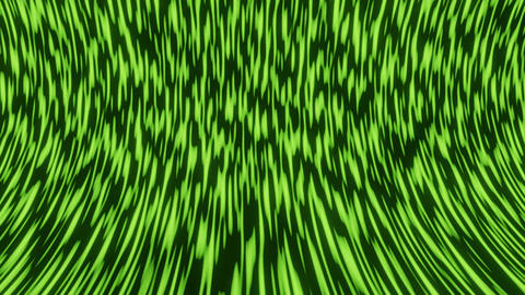 Green natural microworld, abstract animated background composed of green spots Live Action