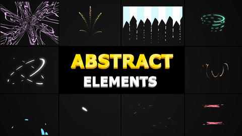 Abstract Shapes After Effects Template