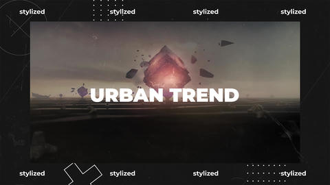 Urban Trend After Effects Template