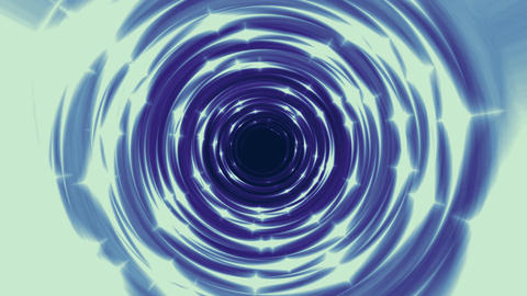 Fire tunnel generated seamless loop video CG動画素材