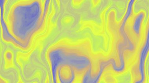Waving fractal background seamless loop video GIF