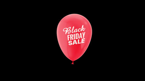 Black Friday Special Discount Loop Animation with QuickTime / Alpha Channel / Prores 4444 Animation