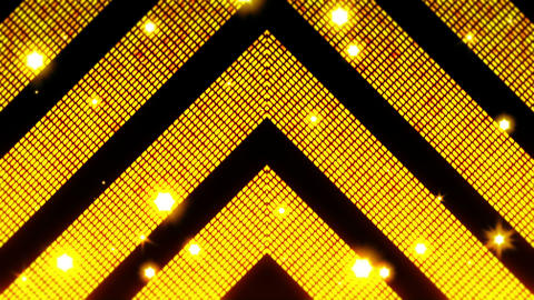 Classy golden lines with glitter square elements. Abstract luxury background. Modern geometric Animation