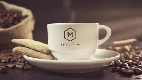 Coffee Logo Pack After Effects Template