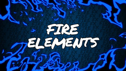 Final Cut Pro - Fire Elements Apple Motion Template