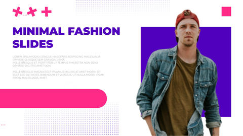 Minimal Fashion Slides After Effects Template