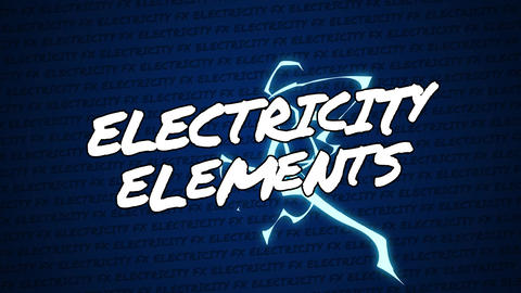 Electricity Elements After Effects Template