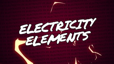 Final Cut Pro - Electricity Elements Apple Motion Template