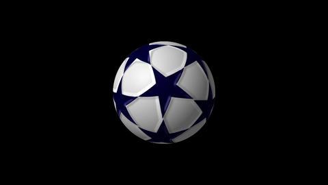 サッカーボール After Effectsテンプレート