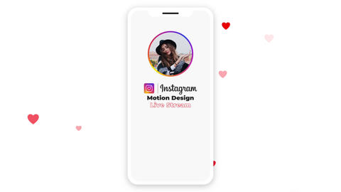 Instagram Live Stream After Effects Template