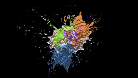 Color Splash Animation