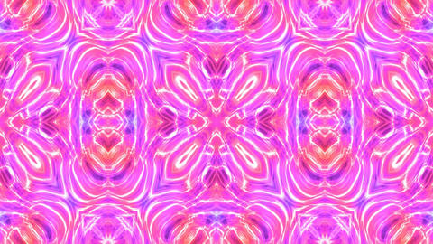 Kaleidoscopic generated seamless loop video Animation