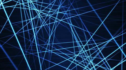 Moving through Light/Laser Beams Animation Animation - Loop Blue Animation