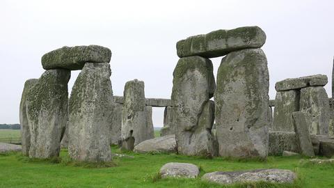 Stonehenge World Heritage Site Footage