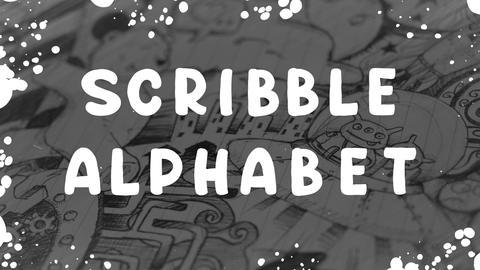 Scribble Alphabet Apple Motion Template