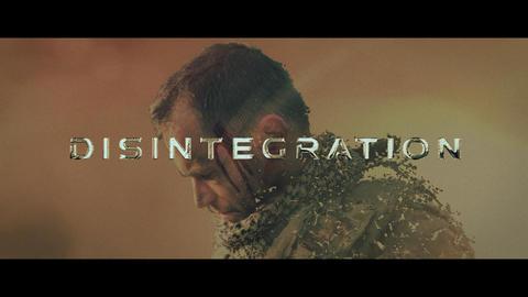 Disintegration Trailer After Effects Template