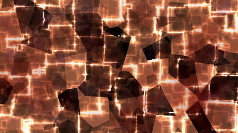 Hypnotic flashing squares on blowing background. Illusion looping movement Animation