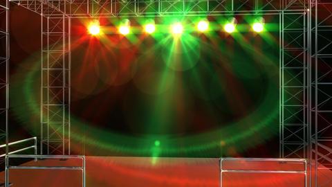 Live stage studio glow light loop animation 애니메이션