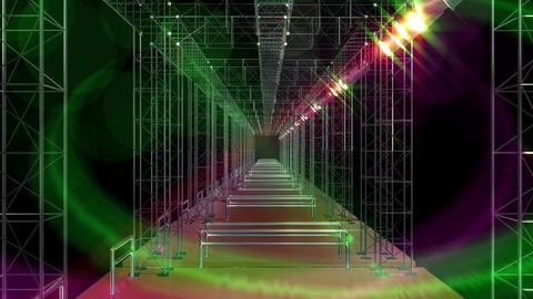 スタジオ ライブ ステージ 照明 ライト ループ アニメショーン CG動画