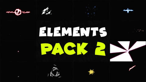Energy Elements Pack 02 After Effects Template