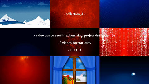 9 videos on various topics After Effects Template