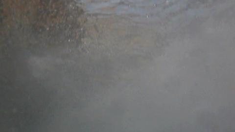 Sea underwater waves Footage