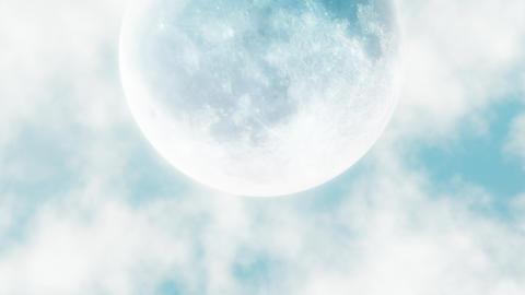 Moon in the Sky C 애니메이션