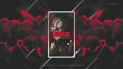 Edge Cinematic Titles After Effects Template