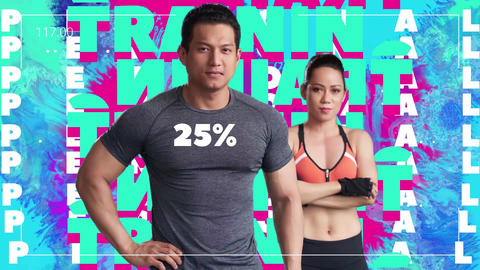 Fitness Promo Opener After Effects Template
