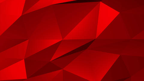 Colorful Red color geometric triangular low poly Live Action