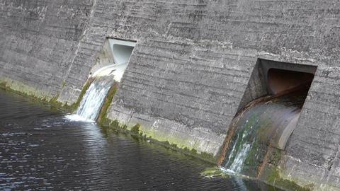Reservoir Outlet Footage