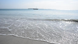 Tanzania White Beach Footage