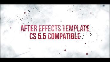 GRUNGE TITLES After Effects Template