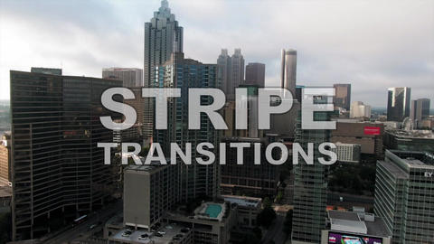 Stripes Transitions Pack Apple Motion Template