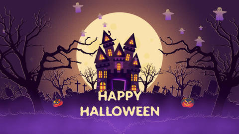 Halloween Opener Motion Graphics Template