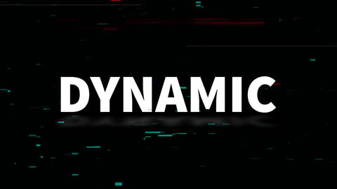 Dynamic Glitch Title Opener Plantillas de Motion Graphics