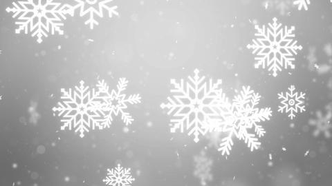 White Snow Snowfall Snowflake Particles Seamlessly ライブ動画