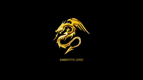 Cinematic Gold & Silver Logo Reveal After Effects Template