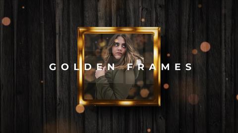 Golden Frames After Effects Template