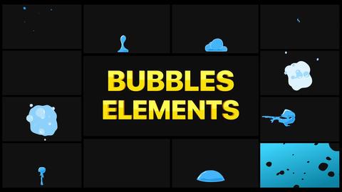 Bubbles Pack Motion Graphics Template