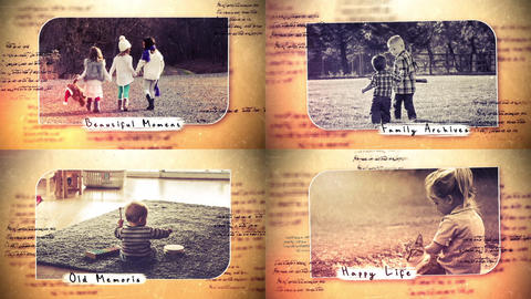Beautiful Memories After Effects Template