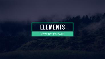 30 Lower Third Titles Pack After Effects Project